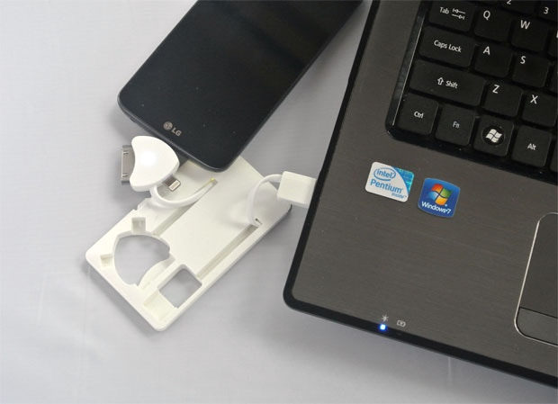 Charges phones by USB or internal battery