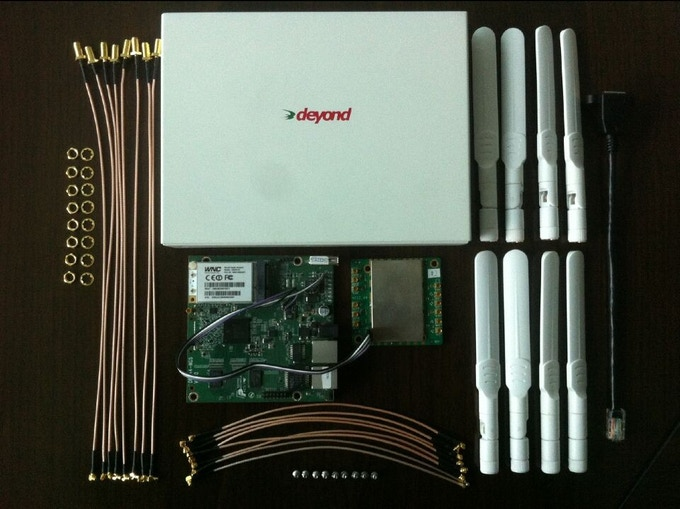 Spider WiFi Router Components