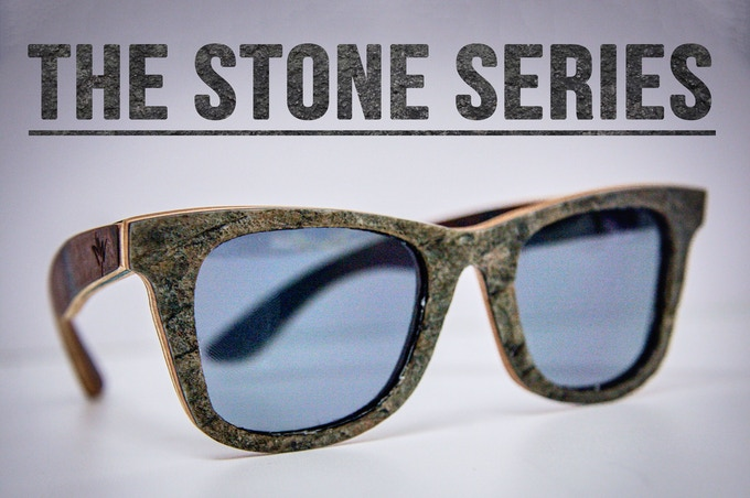 1. The Stone Series: real natural stone, and maple/hemp fibre frame