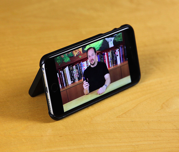 SAFE Wallet for iPhone 6 Plus with Built-In MagicStand For Watching Video
