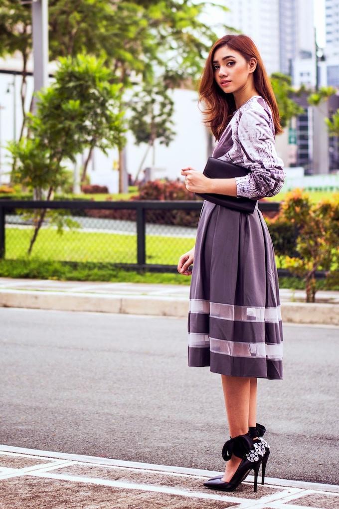 Fashion blogger Aileen Clarisse wears ''Chique du Freaque''