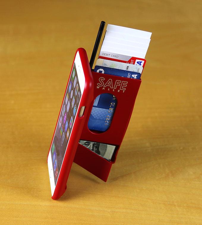 Safe Wallet Case For Iphone 6 Plus By Bullettrain Kickstarter