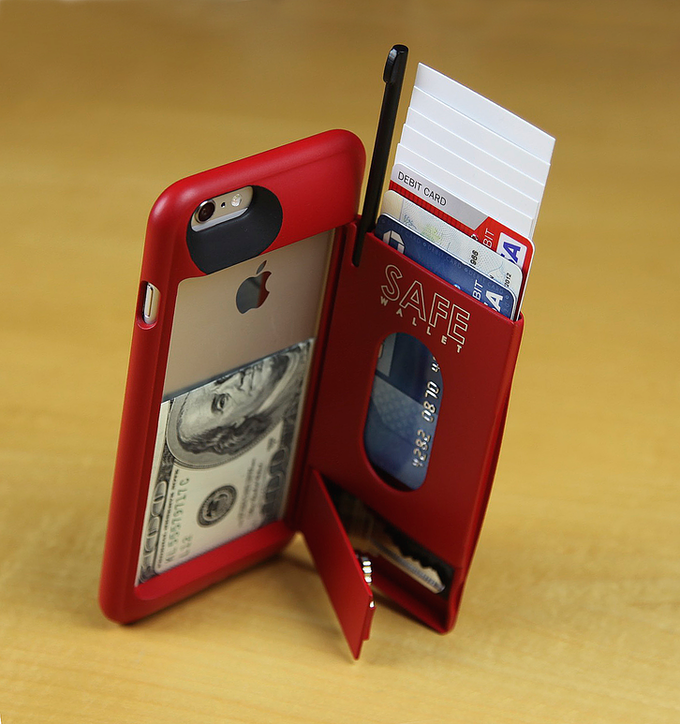 SAFE Wallet Case For IPhone 6 Plus By BulletTrain —Kickstarter