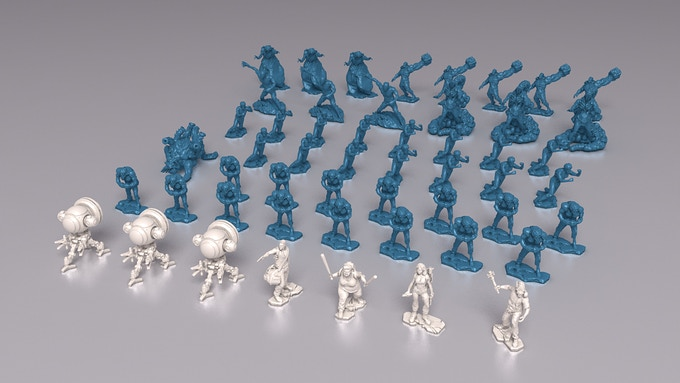 Friends and foes minis.