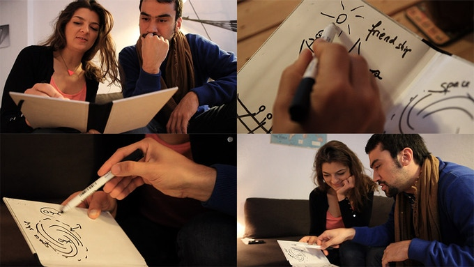 A picture's worth a thousand words: Betabook is a practical tool for everyday communication and collaboration. It offers you the experience of analog writing without wasting paper.