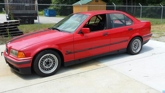 1995 BMW 325i, as purchased