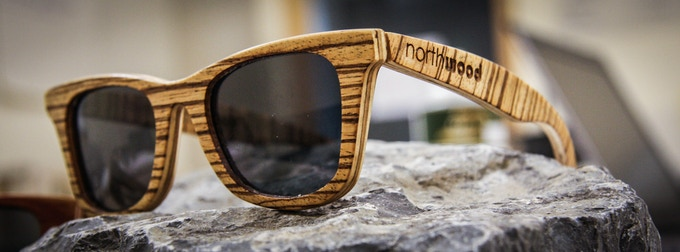 Wood Series Northwoods with Reconstituted Zebrawood