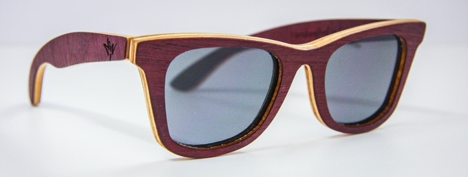 Wood Series Northwoods with Reconstituted Purpleheart