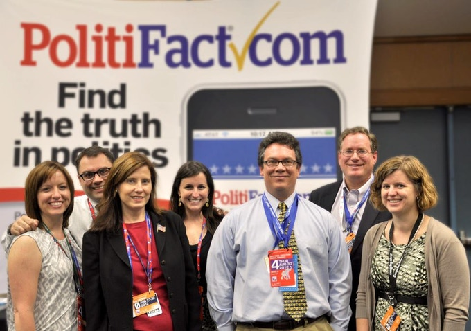 Some of us at the 2012 Republican National Convention in Tampa, Fla.