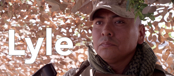 Edsel Pete (Navajo) is an experienced Marine Corps combat veteran. He is fluent in Navajo and currently is the Veteran Affairs Department Manager with the Navajo Nation.  This is his first lead role in a film.
