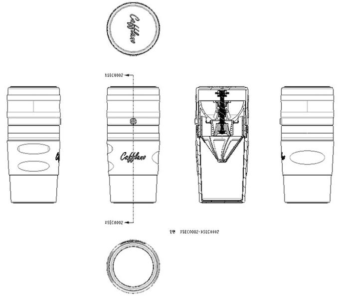 [Pic 1] Original Cafflano® Klassic design