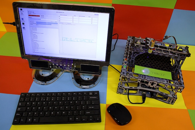 Running a MicroSlice V2.5 with a Multibox powered by the Odroid U3