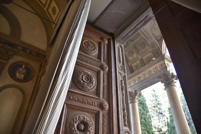 The Pazzi Chapel door in context