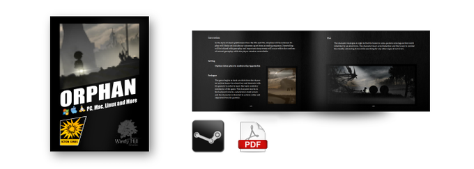 DIGITAL copy of Orphan and Instruction Booklet