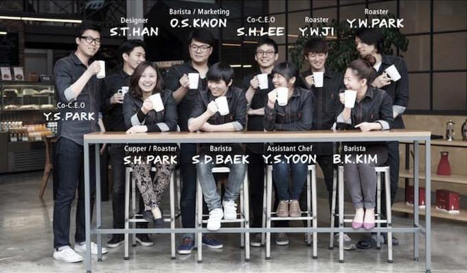 [Pic 10] Open Alley Coffee Roasters (http://www.openalley.co.kr/  &  https://www.facebook.com/openalleykorea)