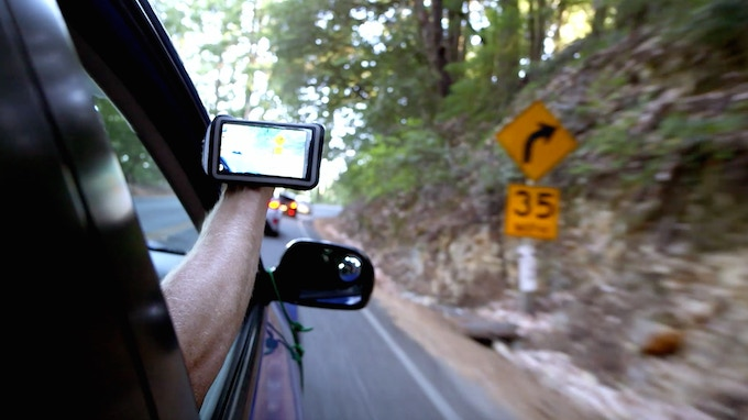 Filming Out Of A Car Window!