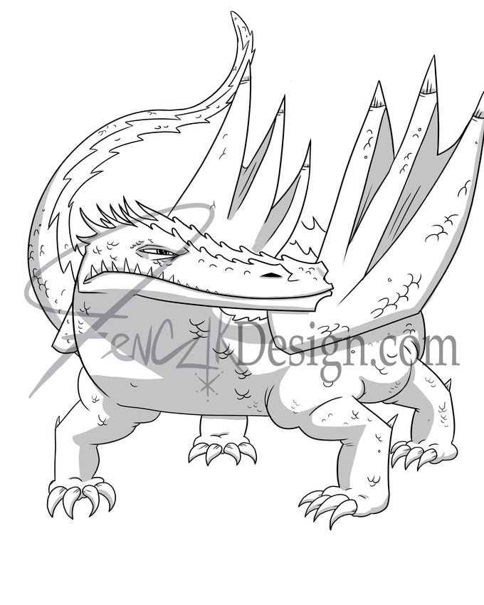 Alligator Dragon
