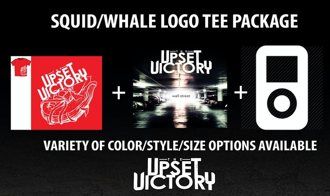 $55 | Signed (or not - your choice) limited edition squid/whale logo t-shirt. Comes with signed album download card of the 'Wall Street' EP and digital album download of new the album a week before it hits shelves.