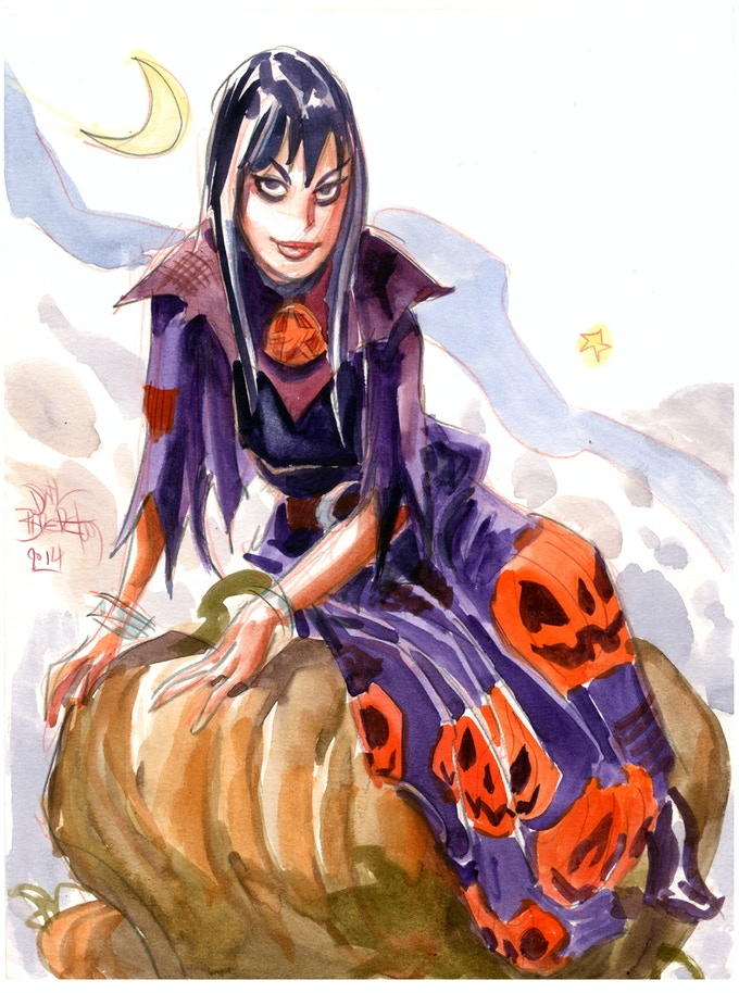 Eve On the Great Pumpkin