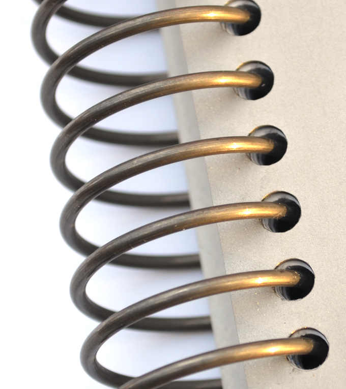 Tpad Refillable Grade 5 Titanium Spiral Notepad, Notebook