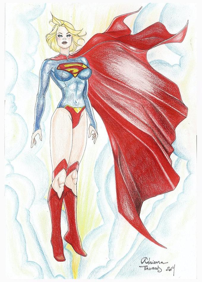11x17 Supergirl by Adriana Tavares