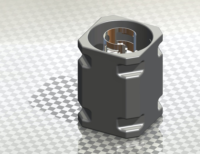 3D Image of the Propane Porter with a 20lb propane tank - post production.