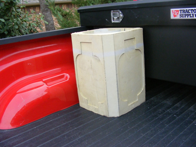 """Notice how easy it is to use the Propane Porter.  It keeps your vehicle and property free from the """"bumps and bruises"""" the propane tank causes."""