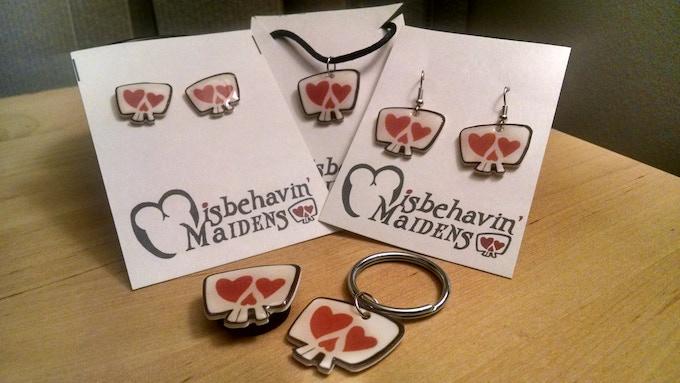 Jewelry, magnet, keychain