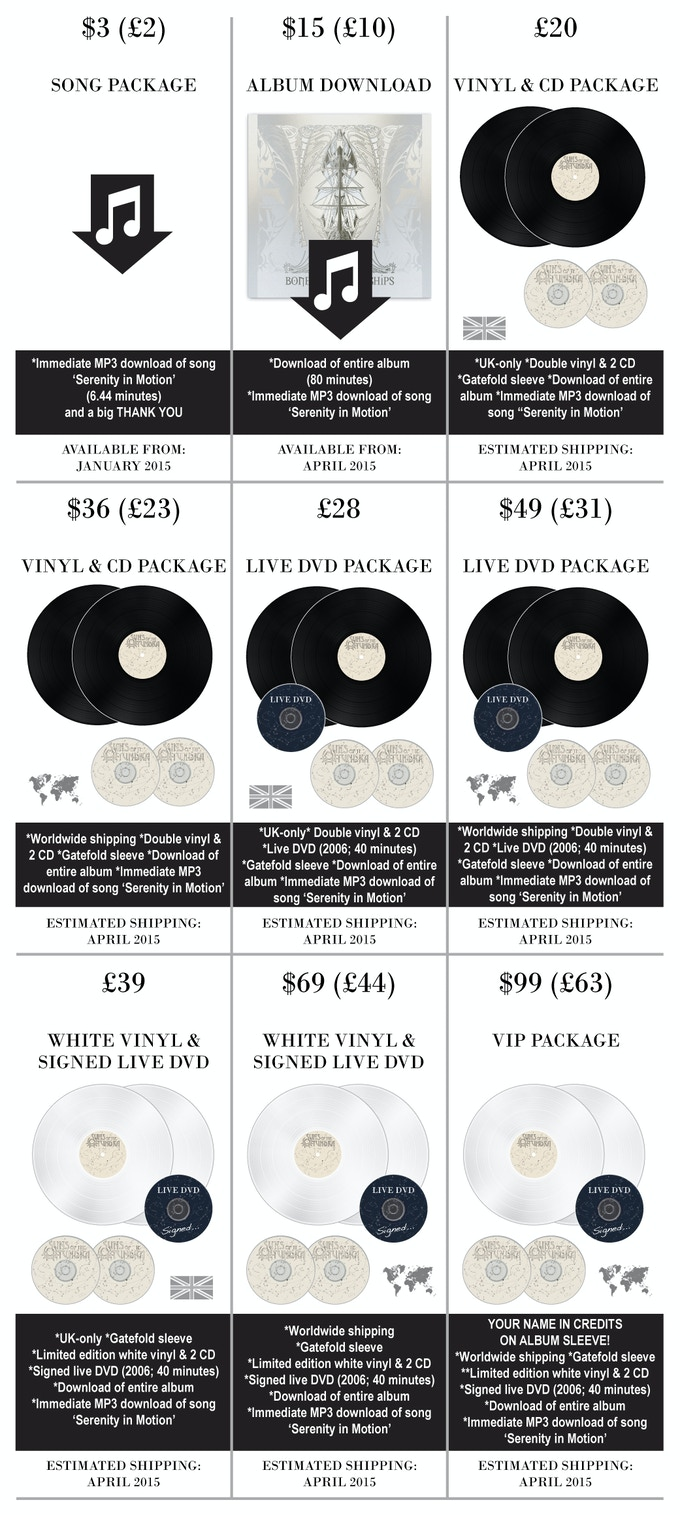 Suns of the Tundra: Vinyl Fundraiser (Bones of Brave Ships) by Suns