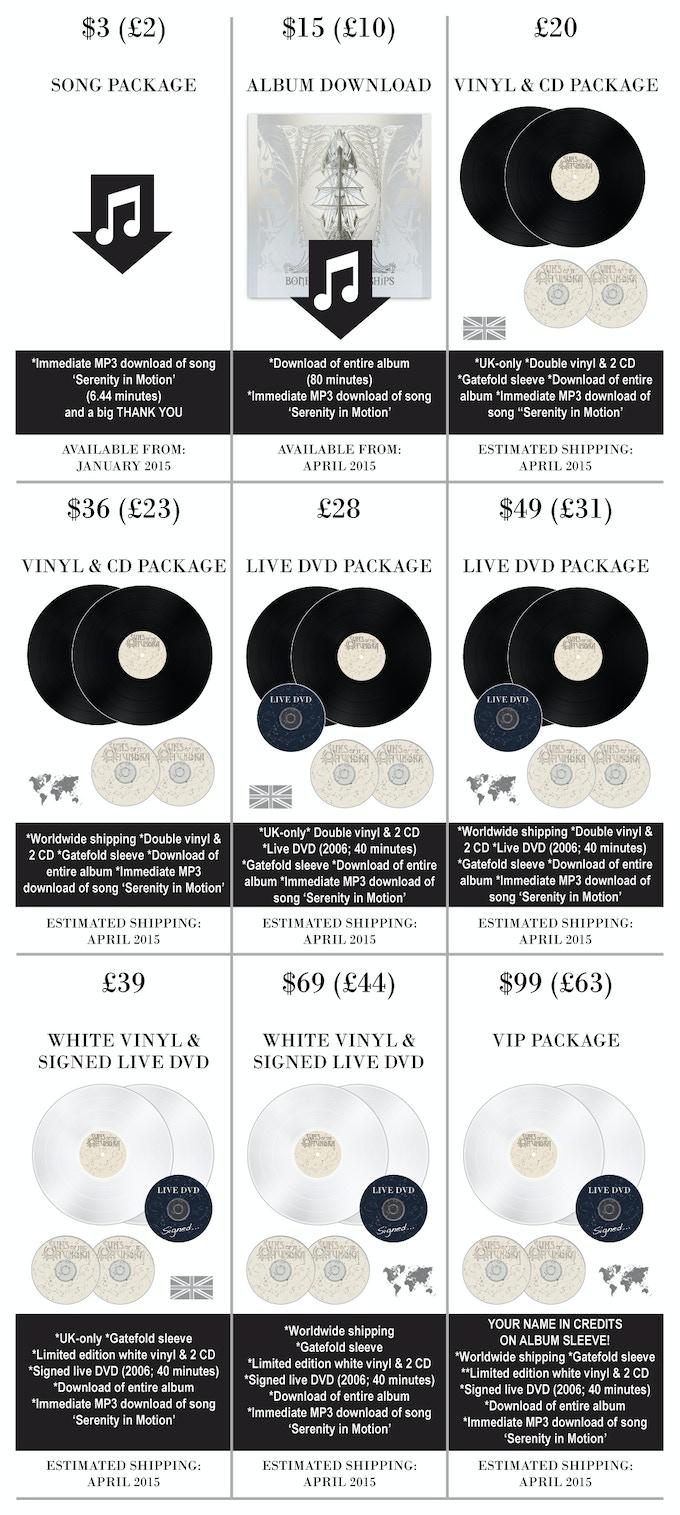 Suns of the Tundra: Vinyl Fundraiser (Bones of Brave Ships