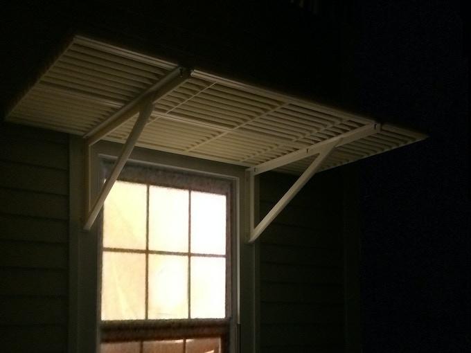 Installed Sun Petal at nighttime