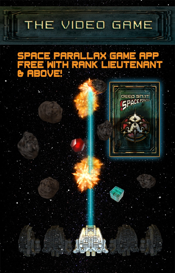 Deep 5H.1T: Space Pirates Video Game App