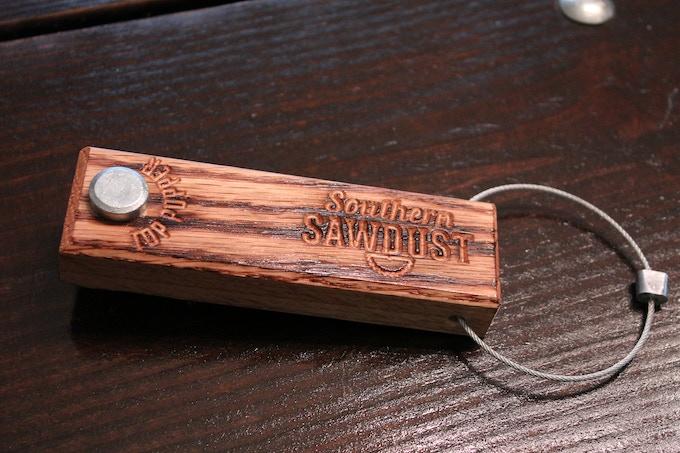 Southern Sawdust Top Popper overhead view ($25.00 reward level)