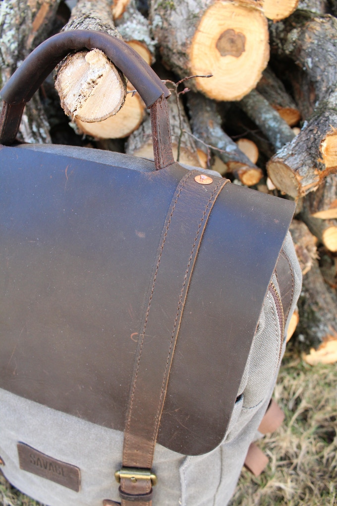 Marine grade stitching, alloy buckles and copper rivets