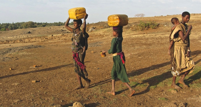 Help us empower the water poor communities.