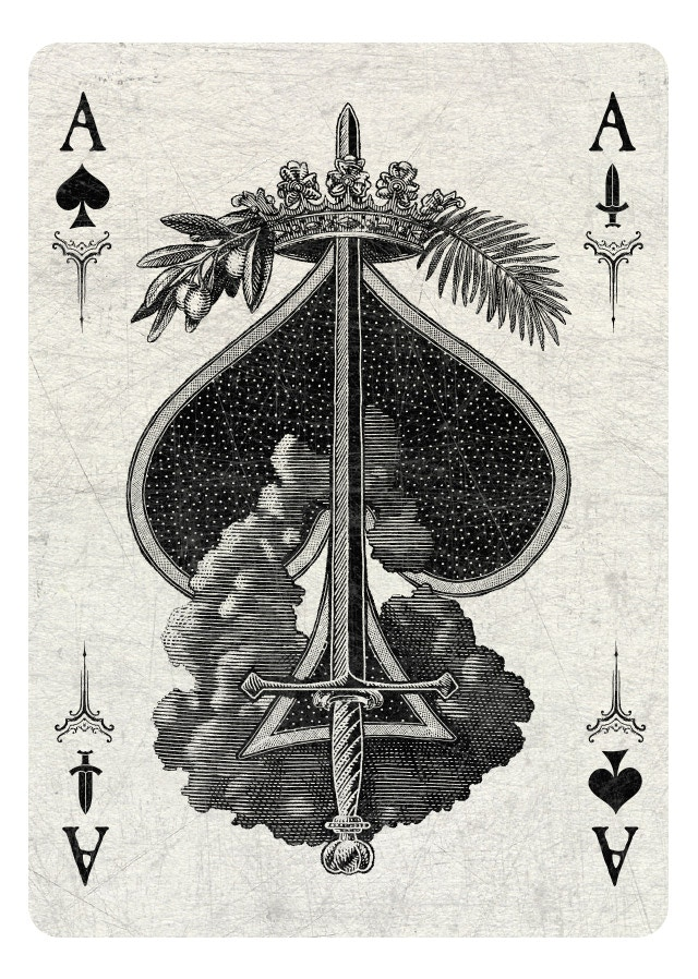 Ace of Spades/Swords light