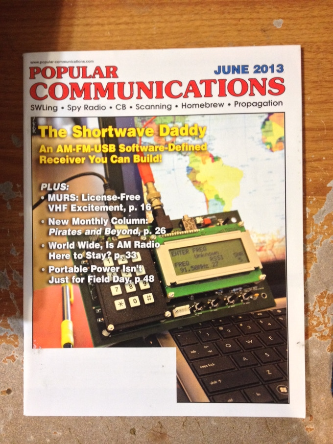 The predecessor to PC Daddy was featured in the June, 2013 issue of Popular Communications Magazine.