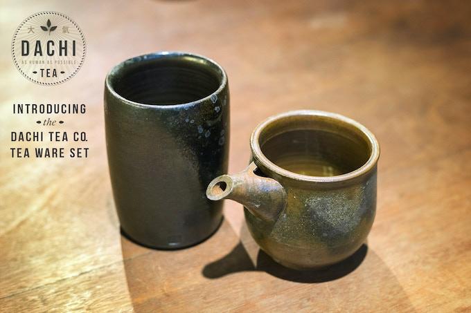 Our Custom-made Tall Tea Cup and Tea Steeper