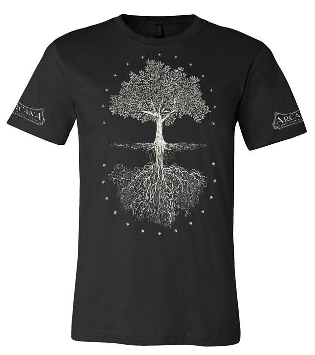 Arcana tree of life t-shirt