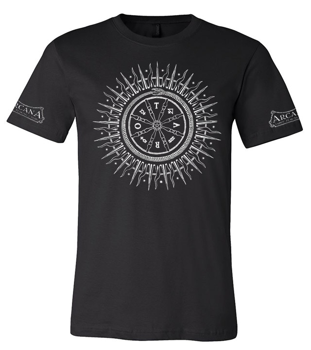 Arcana rota fortunae t-shirt