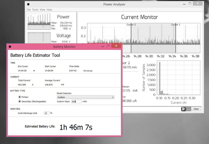 Battery Life Estimation Tool