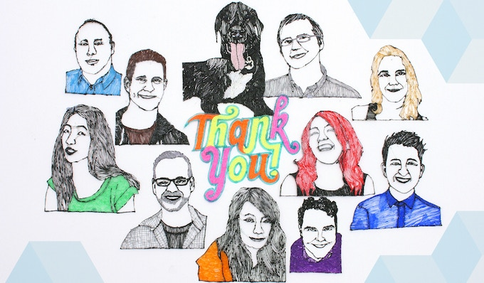 Thank you from the 3Doodler Team!