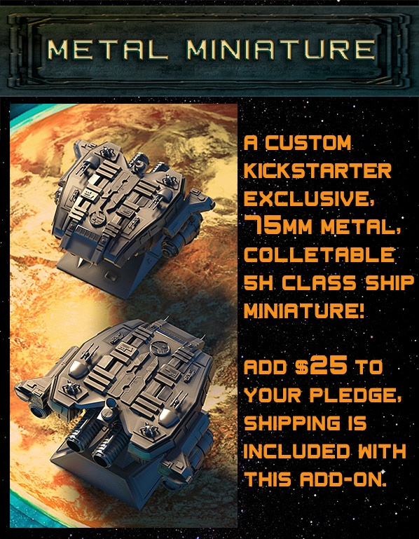 Exclusive Kickstarter Special Metal Miniature!