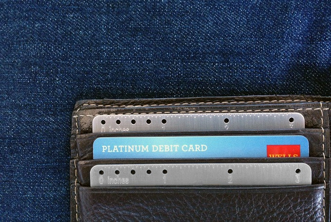 Fits into any wallet.