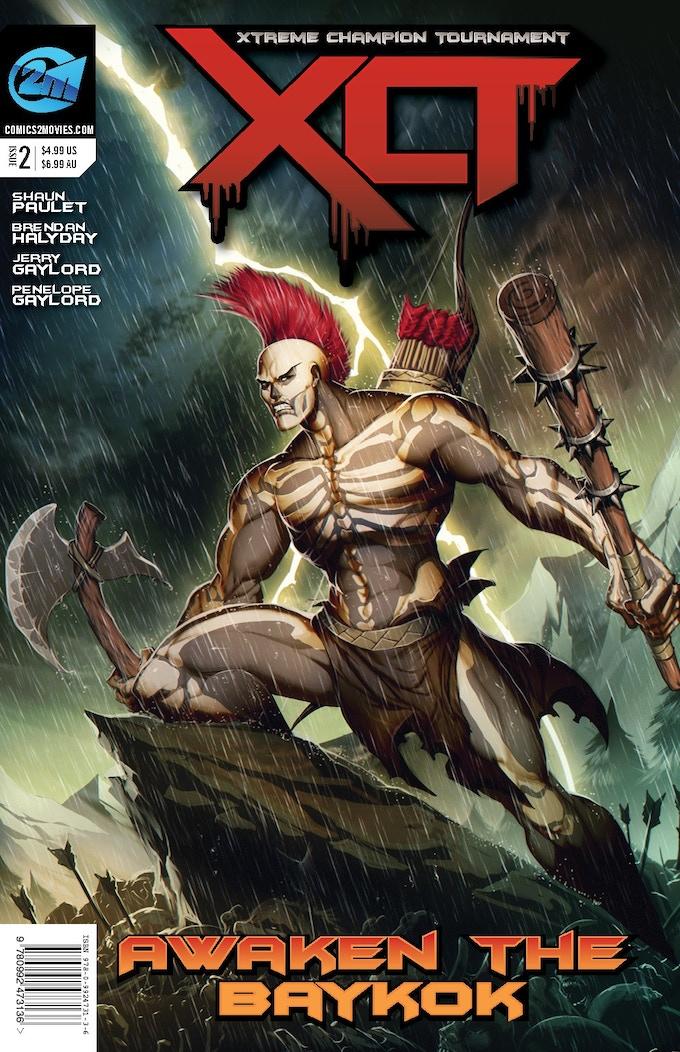 Incentive Cover Issue #2 - GENZOMAN