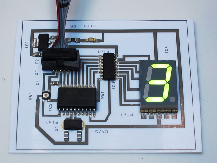 Squink lets you create circuits like this one at home.