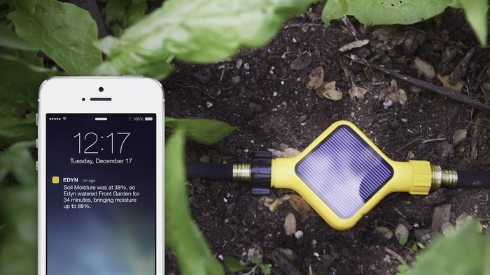Edyn monitors your plants and controls watering.