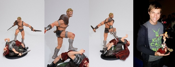 Limited Edition Spartacus Statue
