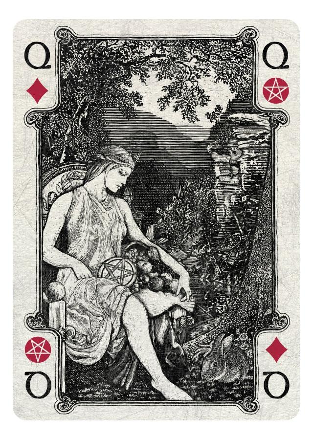 Queen of Diamonds/Pentacles