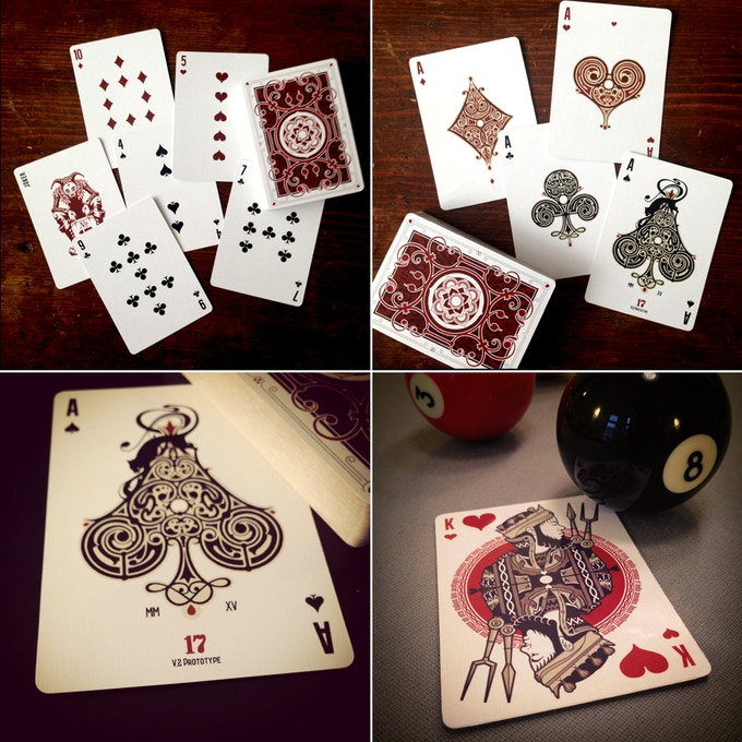 pips, aces and king of hearts - prototype